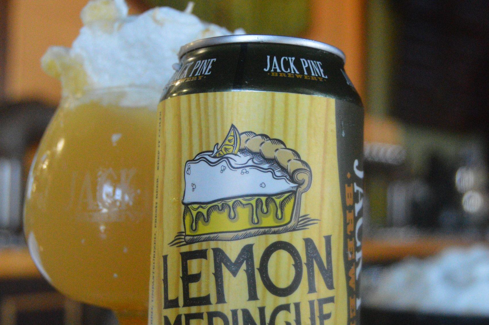 Jack Pine Lemon Meringue Pastry Sour • Photo via Jack Pine Brewery