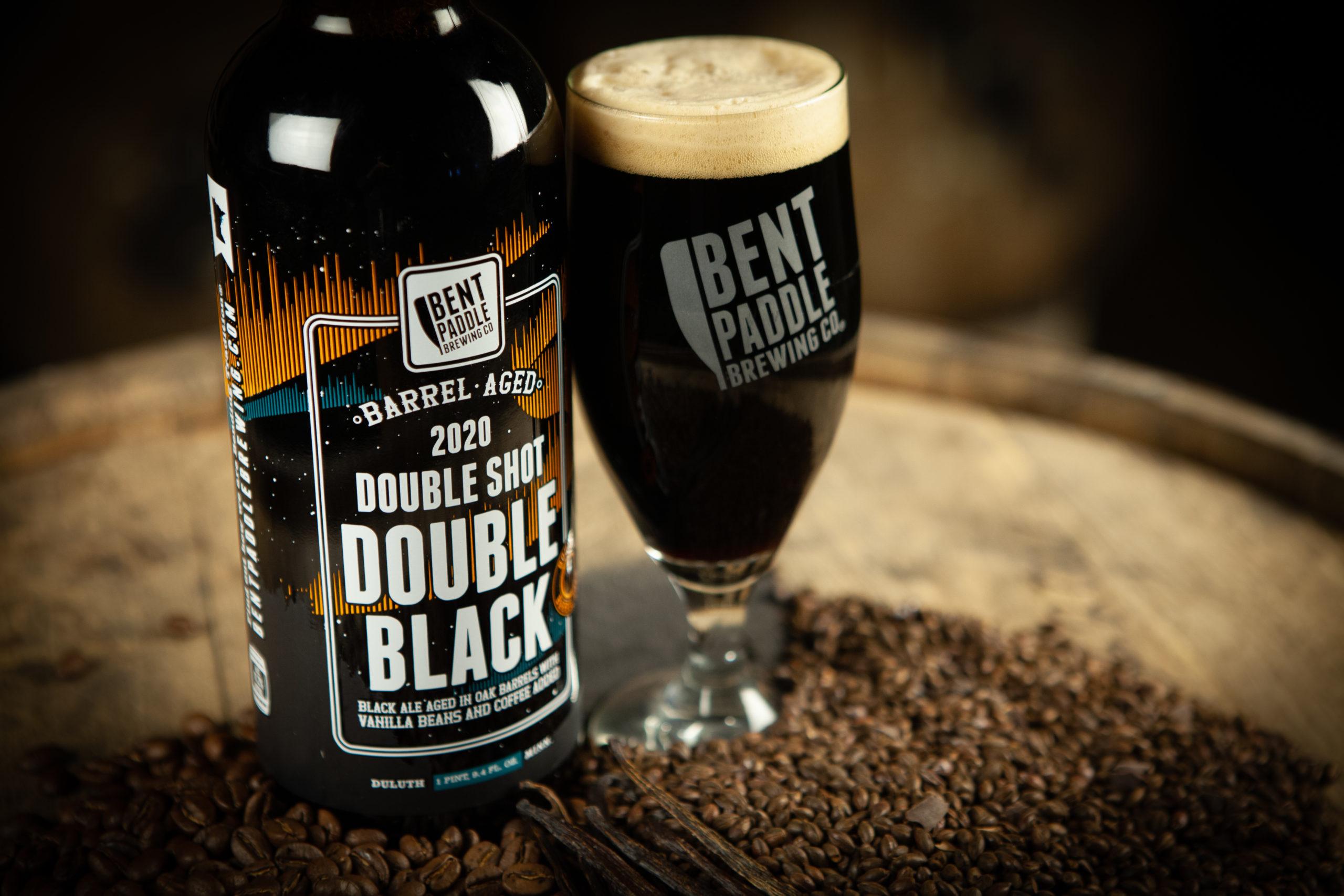 Bent Paddle's Double Shot Double Black • Photo via Bent Paddle Brewing Company