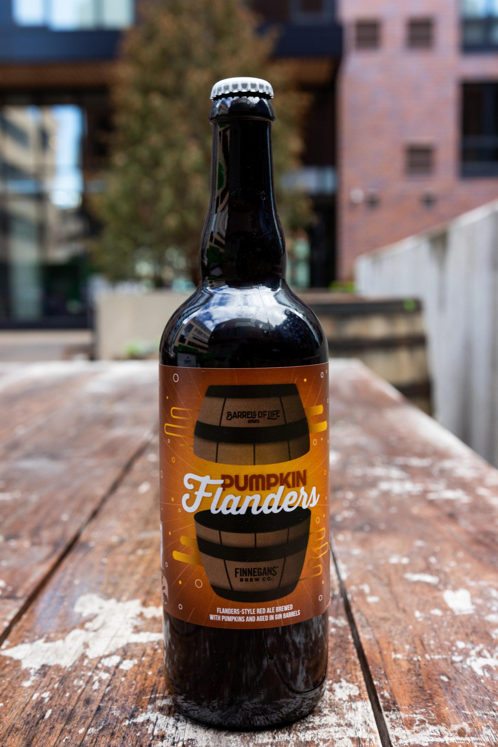 FINNEGANS Brew Co.'s Pumpkin Flanders • Photo via FINNEGANS Brew Co.