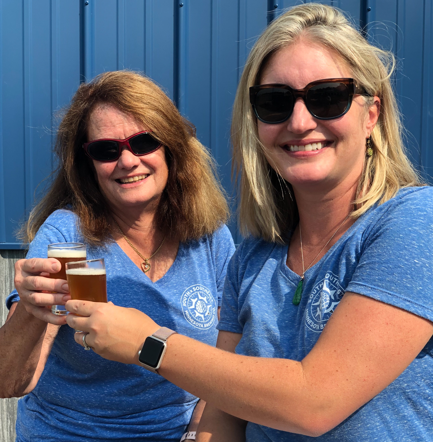 SxSE Brewery owners Ann Fahy-Gust (left) and Tessa Leung // Photo via SxSE Brewery