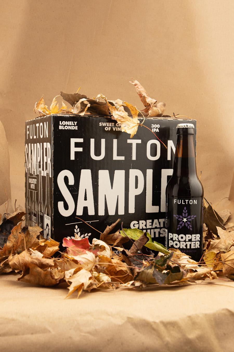 Fulton's Proper Porter • Photo via Fulton Brewing Co.