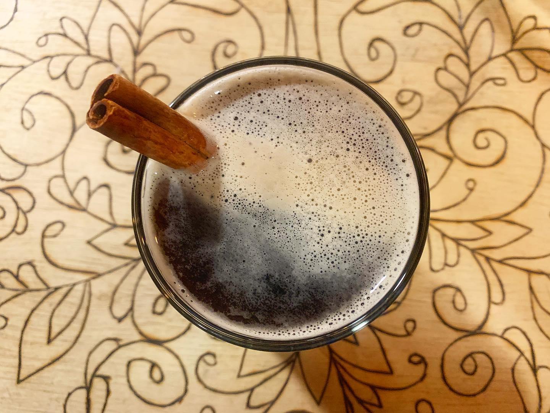 AEGIR Cinnamon Fall Stout • Photo via AEGIR Brewing Company