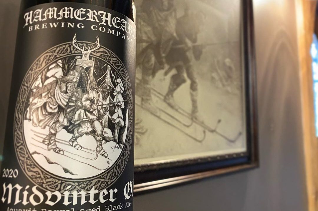 HammerHeart Midvinter Ol • Photo via HammerHeart Brewing
