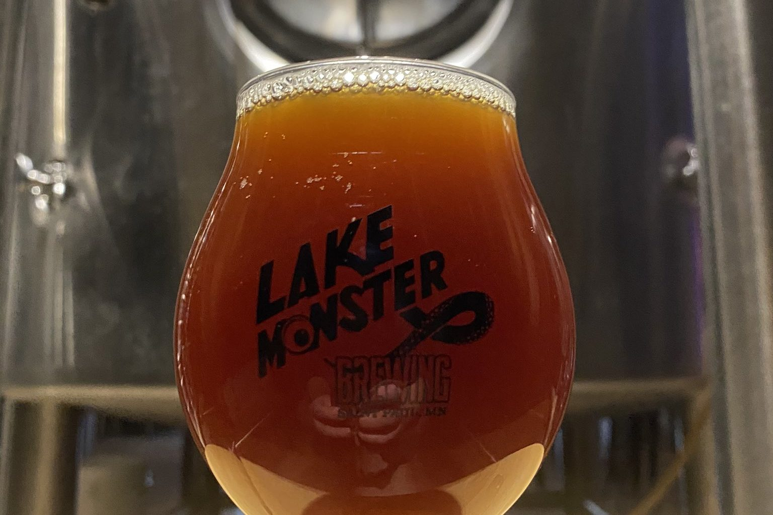 Lake Monster Gill's Grand Cru • Photo via Lake Monster Brewing