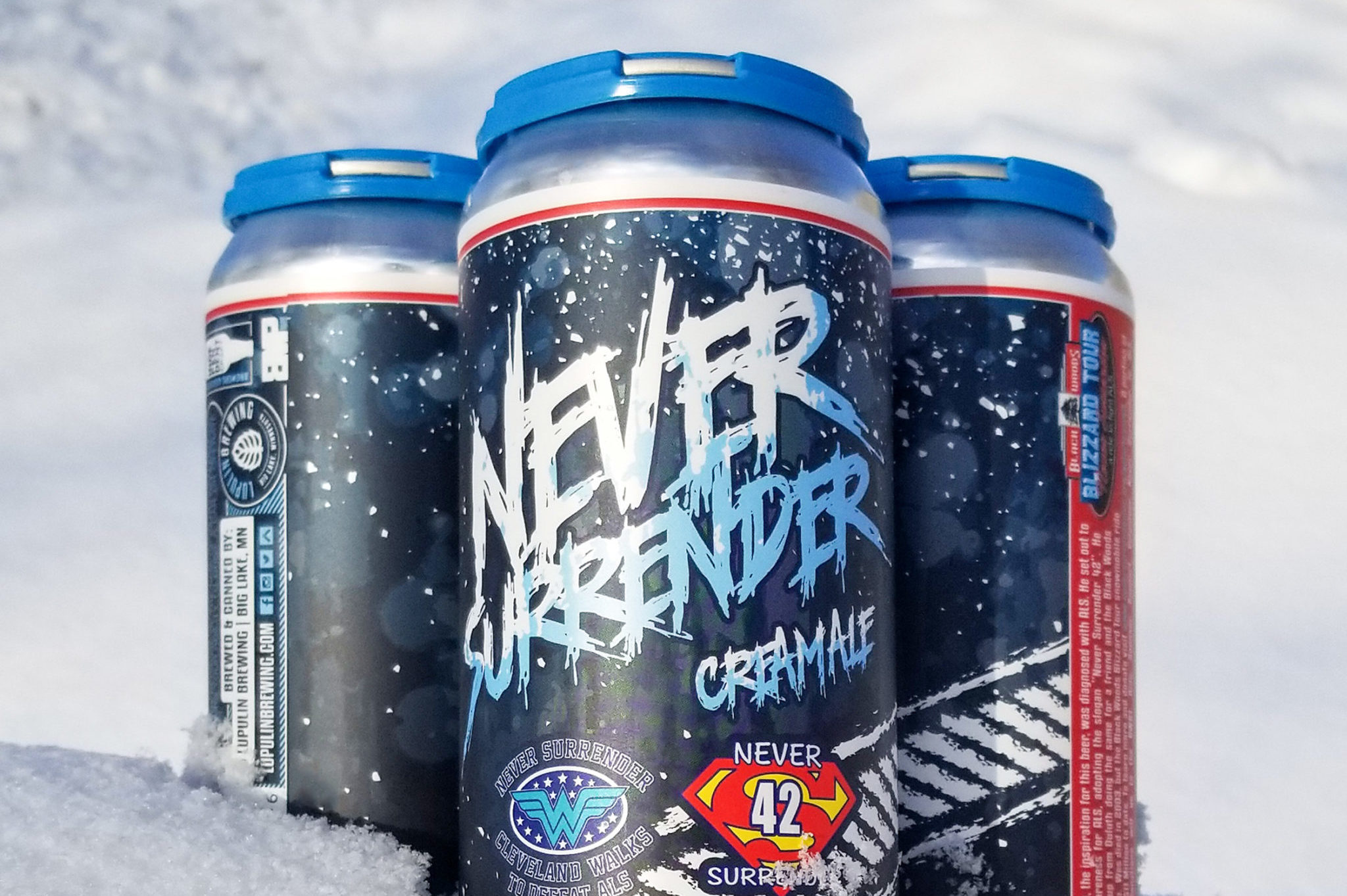 Lupulin Never Surrender Cream Ale • Photo via Lupulin Brewing