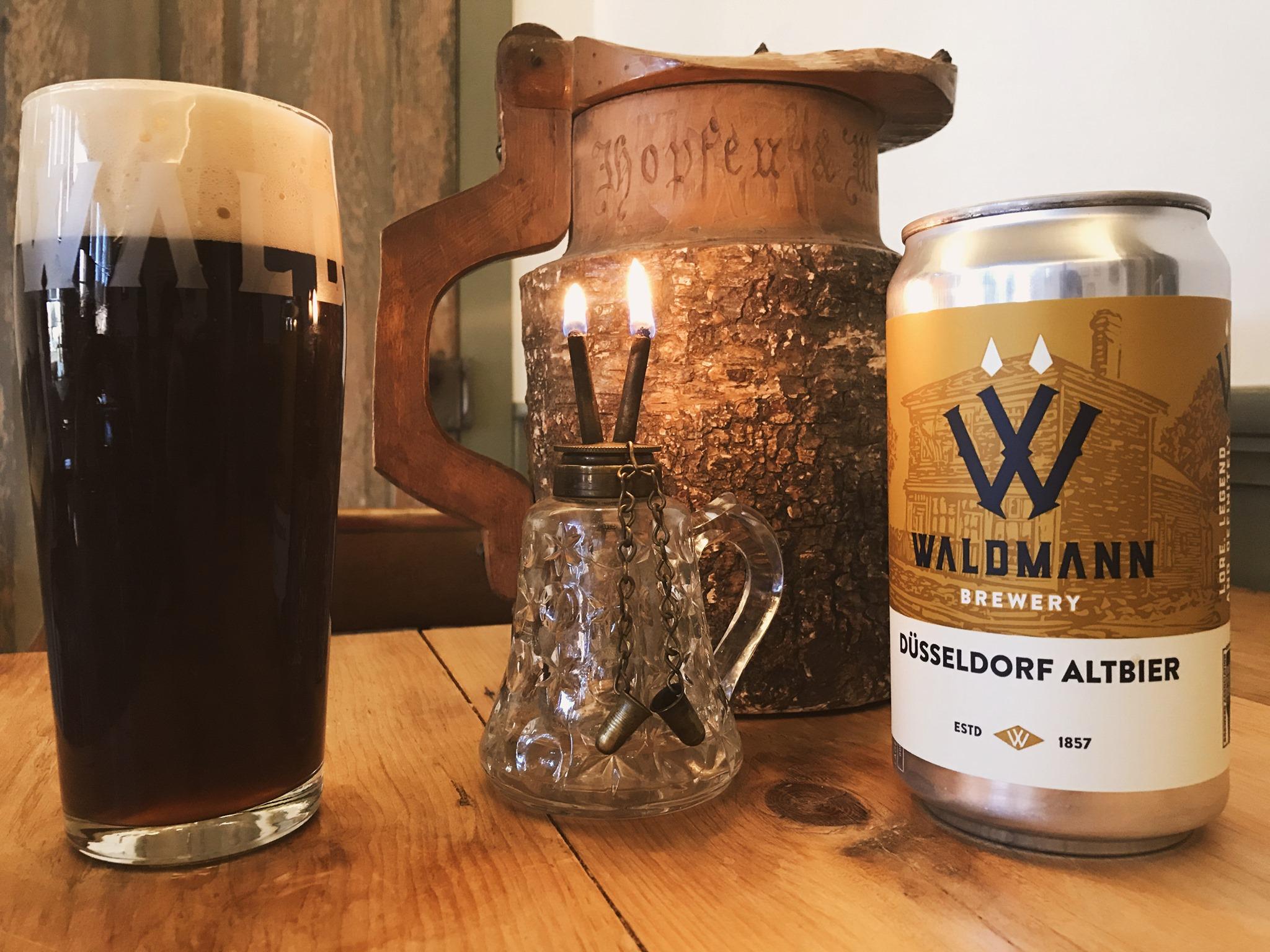 Waldmann Dusseldorf Altbier • Photo via Waldmann Brewery