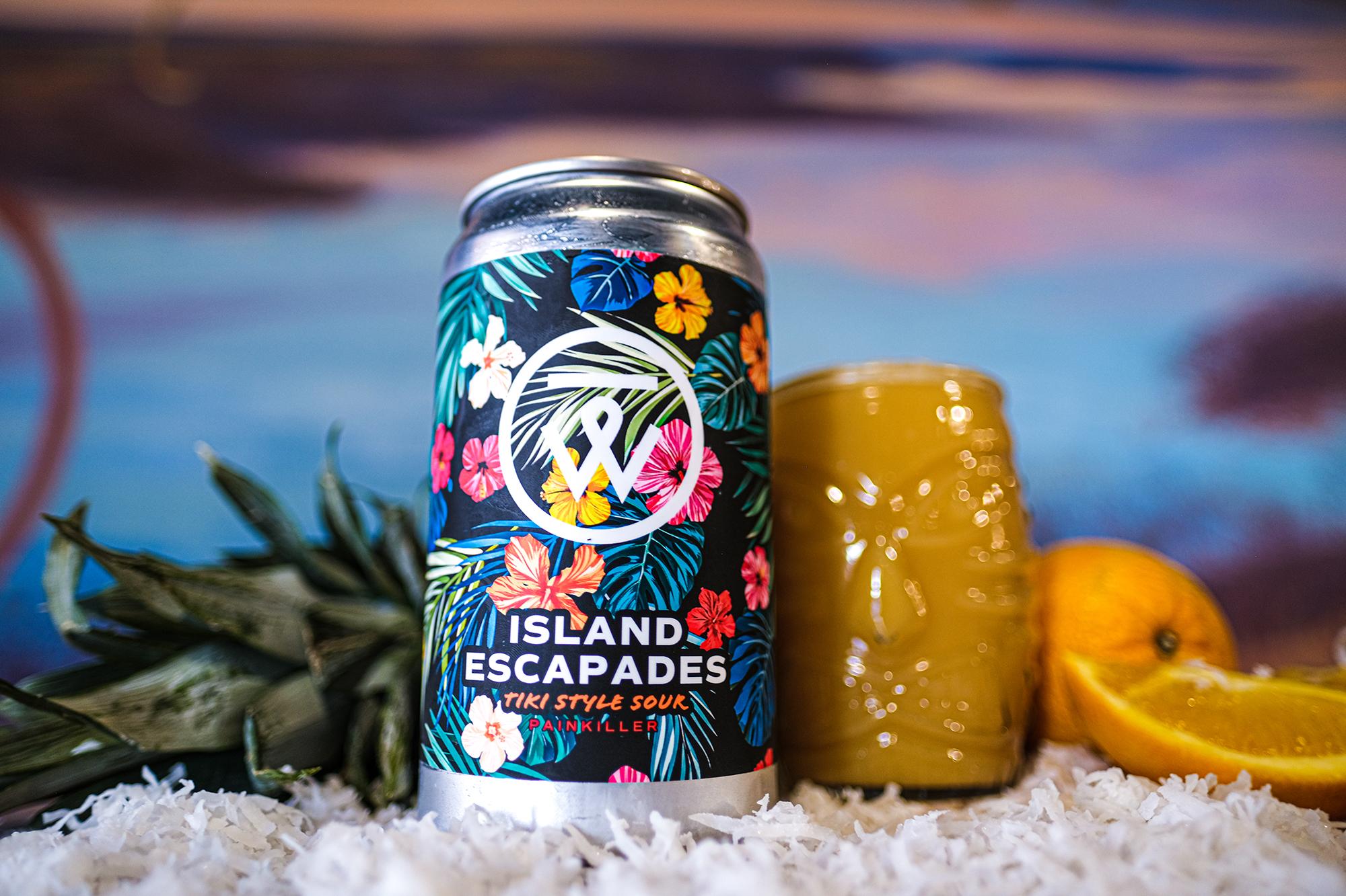 Talking Waters Island Escapades • Photo via Talking Waters Brewing Company