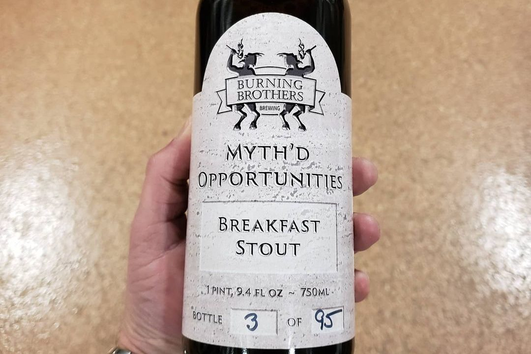 Burning Brothers Myth'd Opportunities • Photo via Burning Brothers Brewing Company