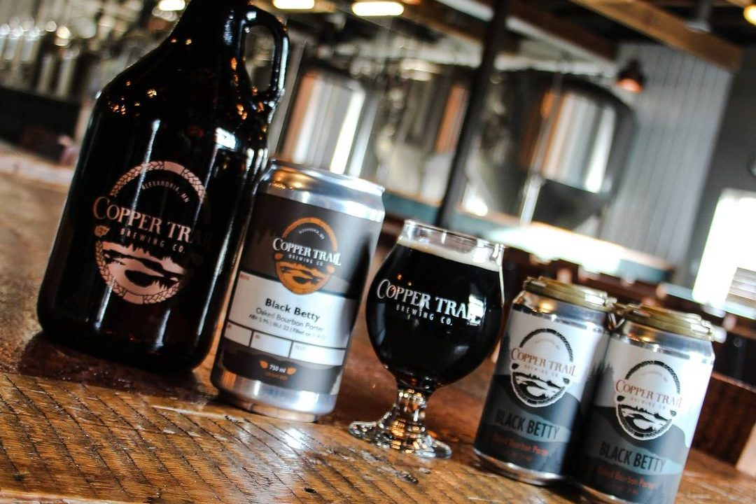 Copper Trail Black Betty • Photo via Copper Trail Brewing Company