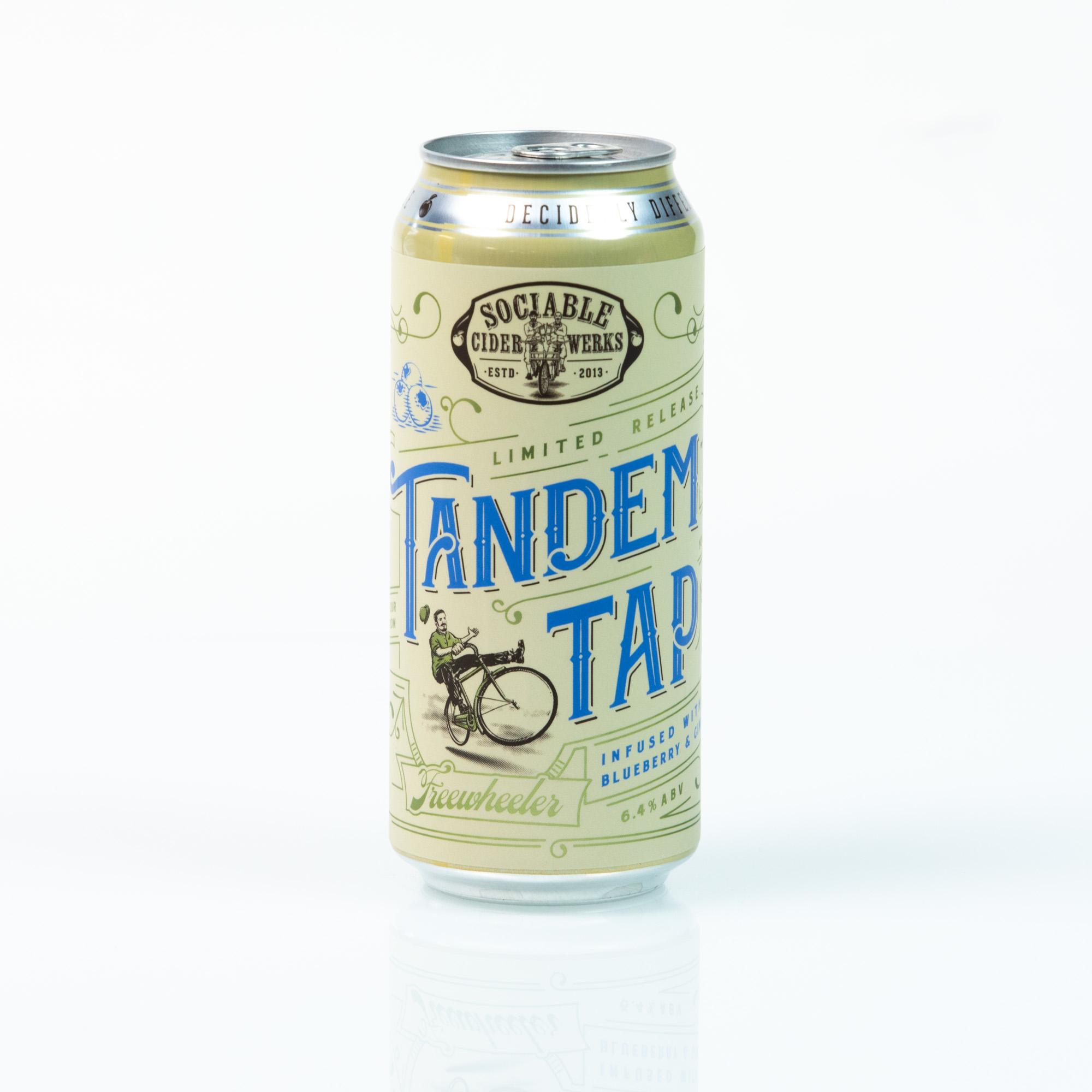 Tandem Tap: Blueberry Ginger Cider