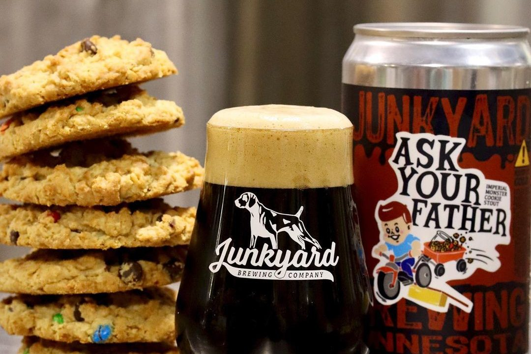 Junkyard Ask Your Father • Photo via Junkyard Brewing