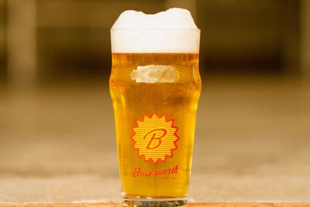 Bricksworth Beer Kraftwerk Pils • Photo via Bricksworth Beer