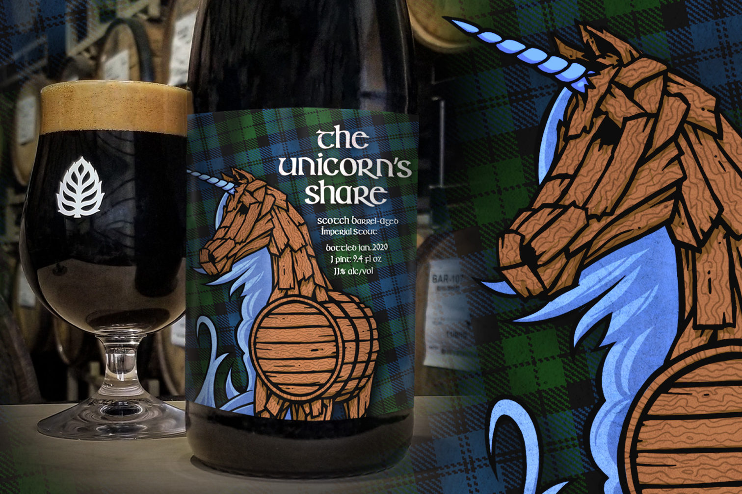 Lupulin and Little Thistle Unicorn's Share • Photo via Lupulin Brewing