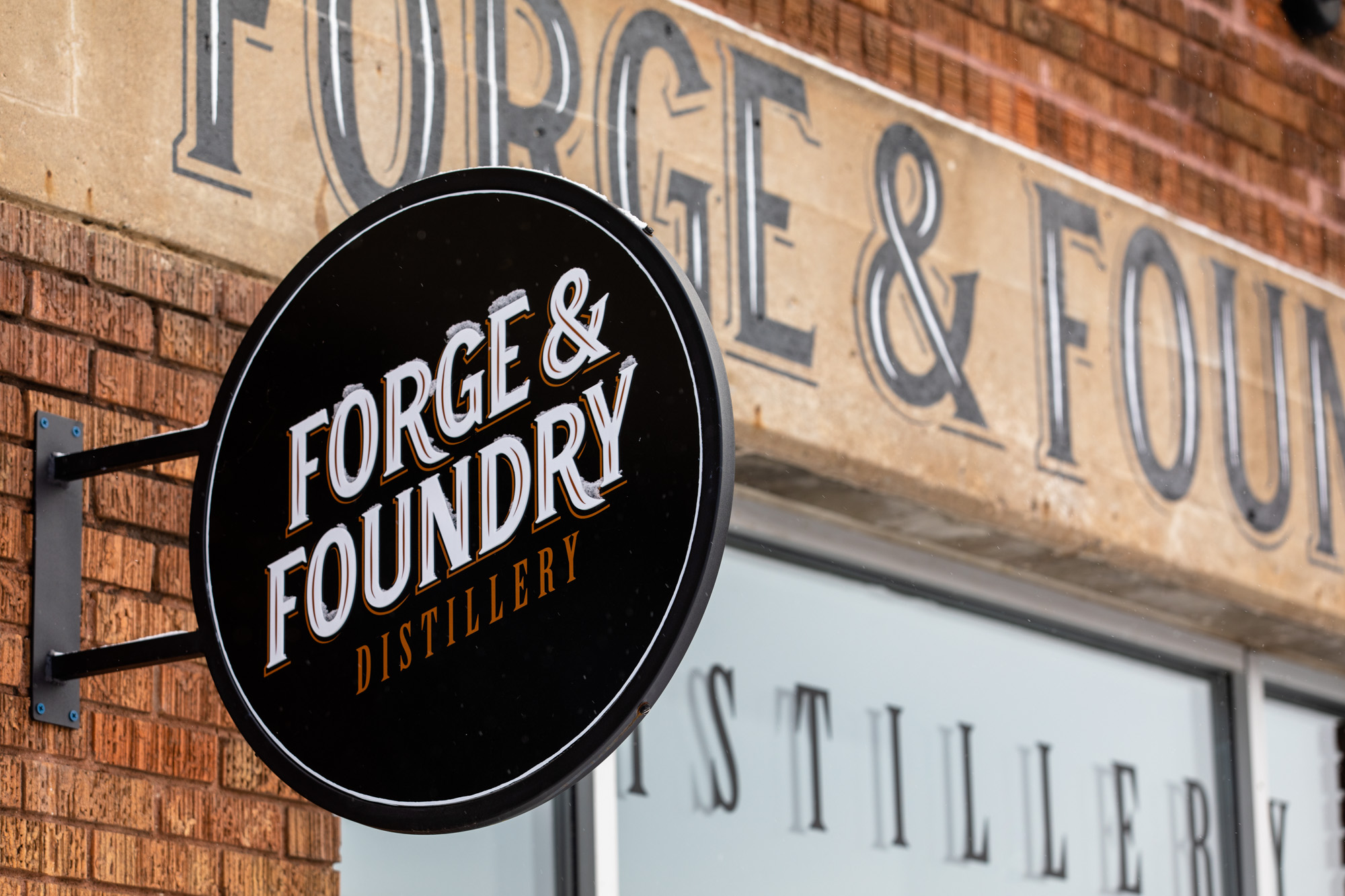 Forge & Foundry Distillery, located on Main Street in downtown Stillwater, Minnesota • Photo by Jordan Wipf