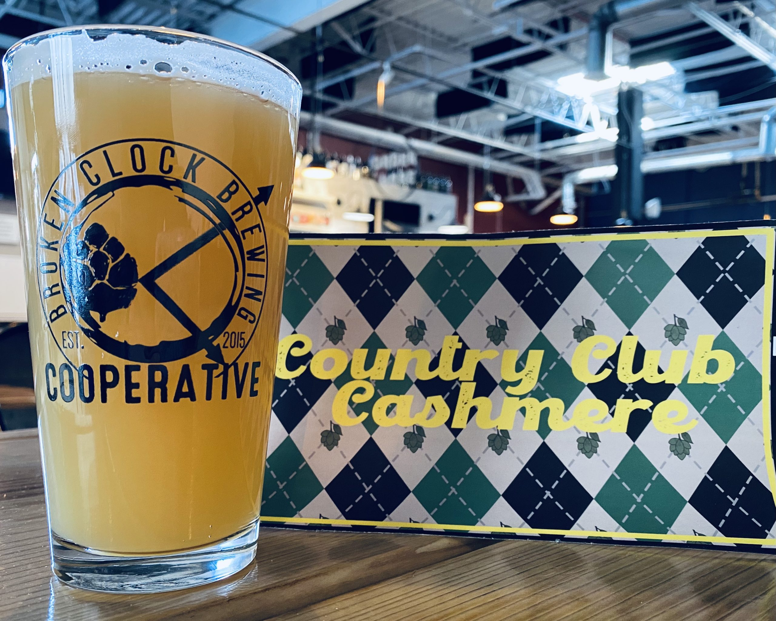 Broken Clock Countryclub Cashmere • Photo via Broken Clock Brewing Cooperative