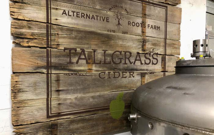 Tallgrass Cider is a new offering from John and Brooke Knisley of Alternative Roots Farm in Madelia, Minnesota • Photo via Tallgrass Cider