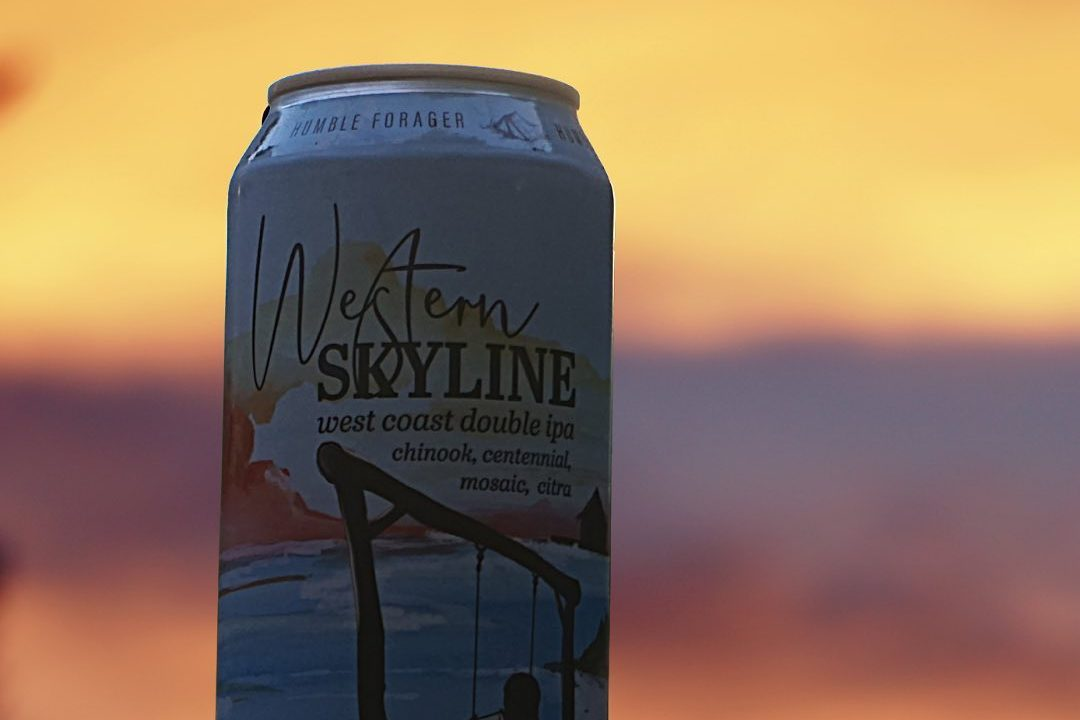 Humble Forager Western Skyline • Photo via Humble Forager Brewing