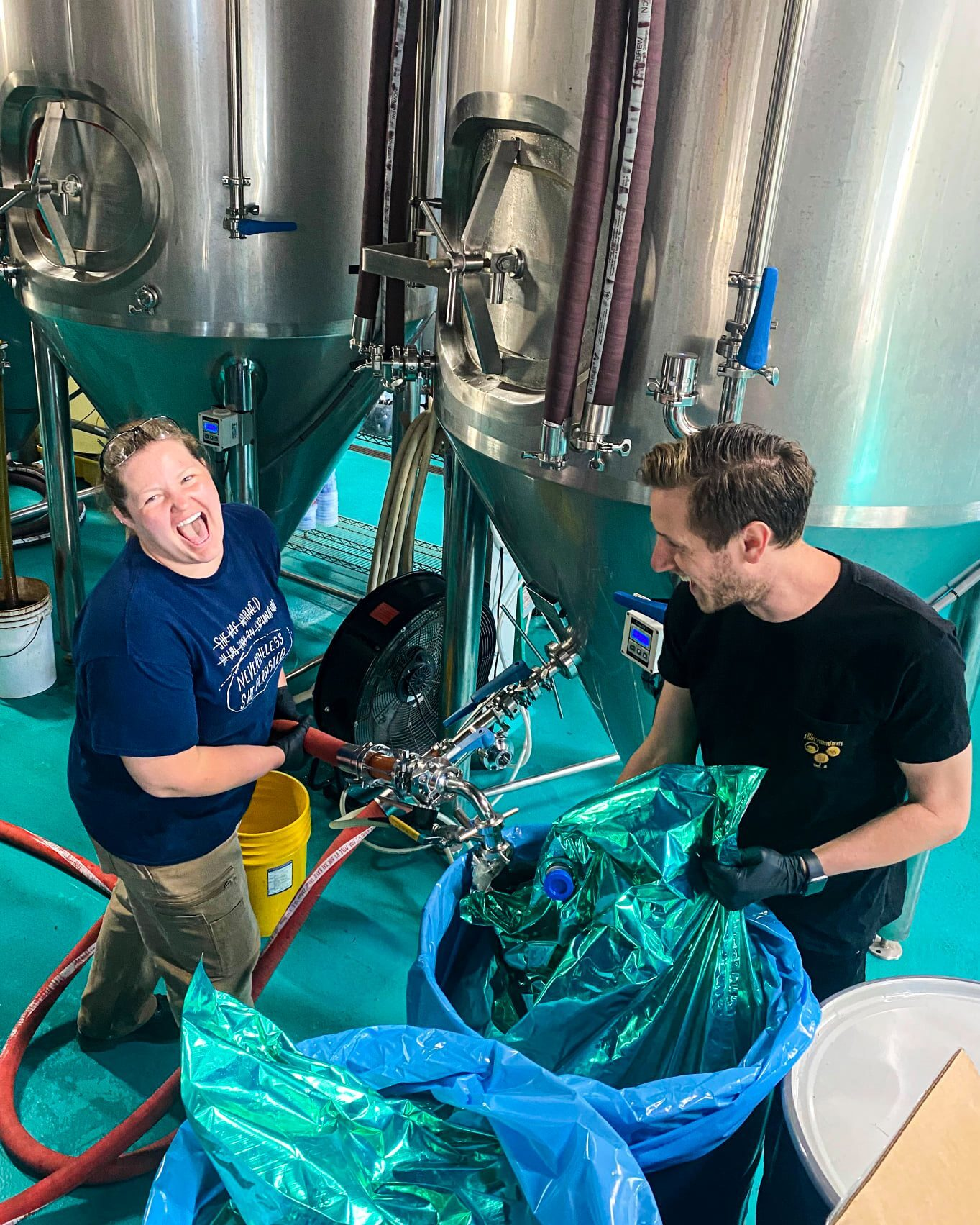 Deviant Minds brew day at Modist Brewing Company in Minneapolis • Photo via Deviant Minds
