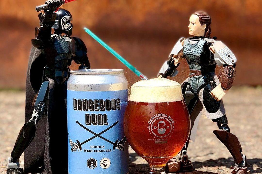 Dangerous Man Dangerous Dual • Photo via Dangerous Man Brewing Company