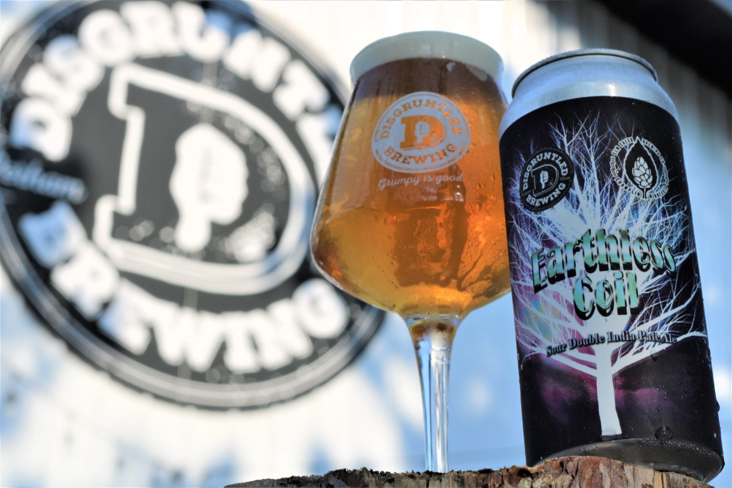 Disgruntled Earthless Coil • Photo via Disgruntled Brewing