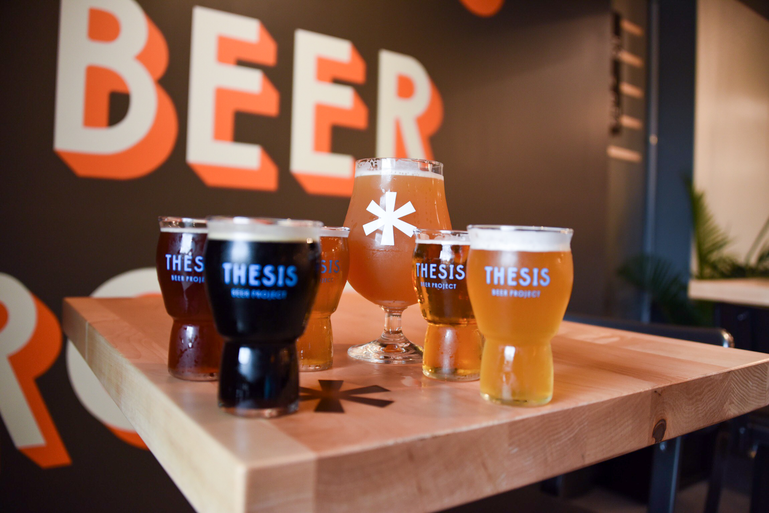 Thesis Beer Project • Photo by Louis Livingston-Garcia