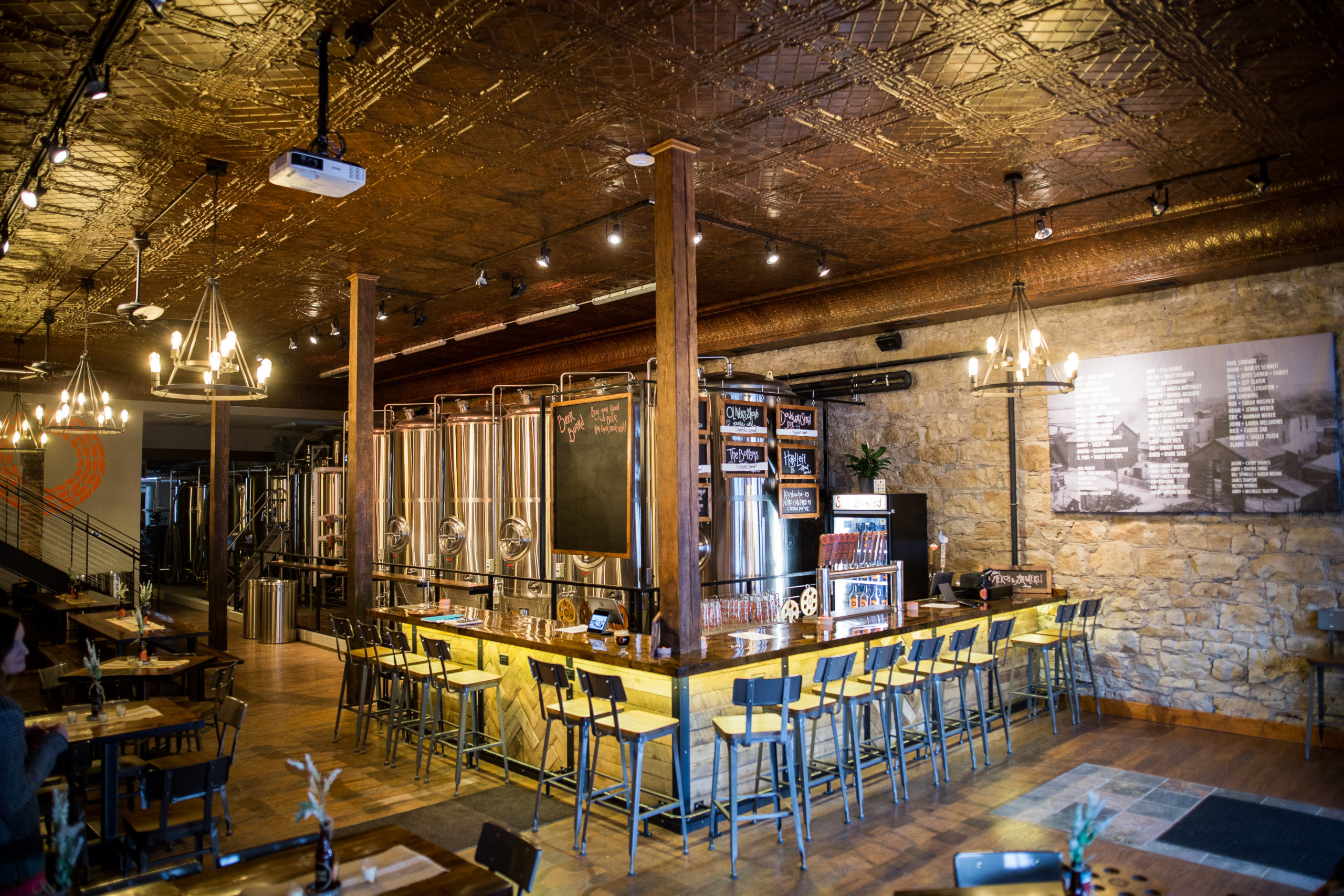 Spiral Brewing Company • Photo by Aaron Davidson