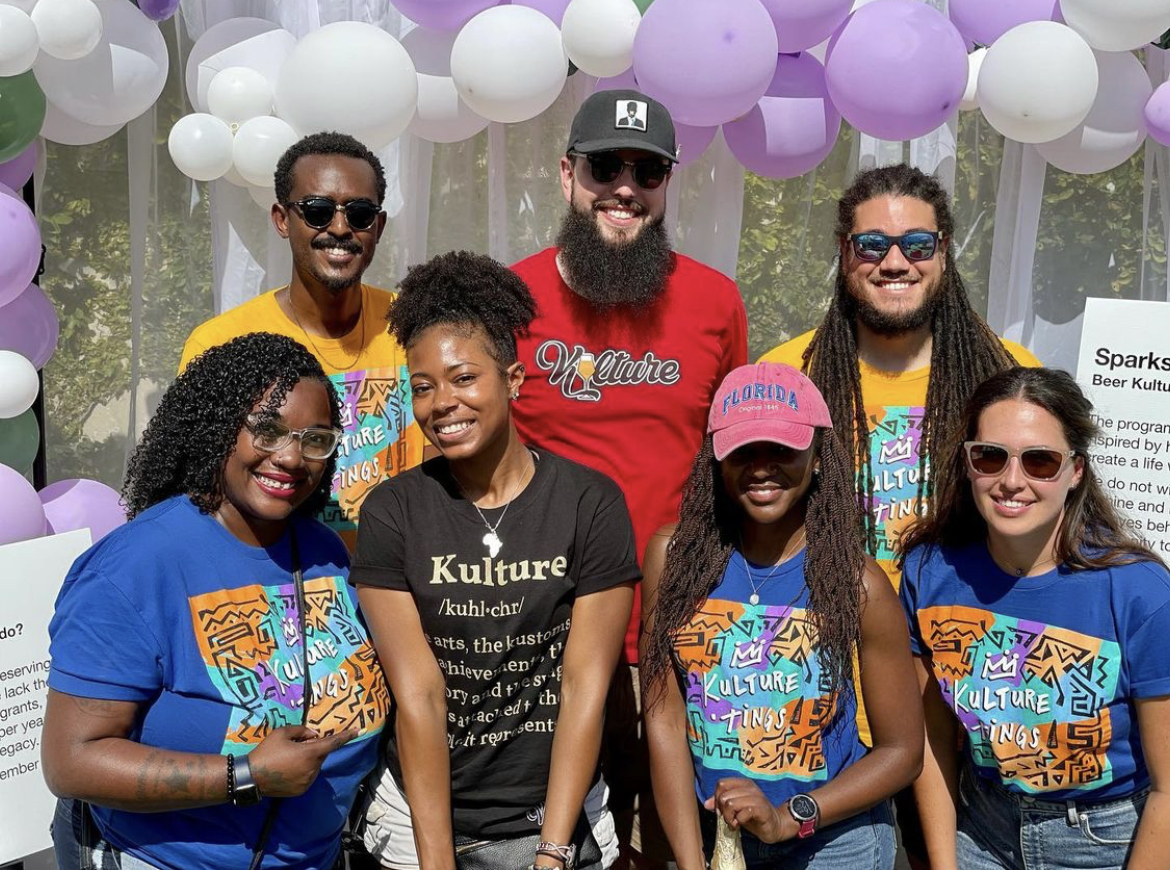 Nonprofit Beer Kulture is working to diversify craft beer by connecting the brewing industry with Black and Brown candidates • Photo via Beer Kulture