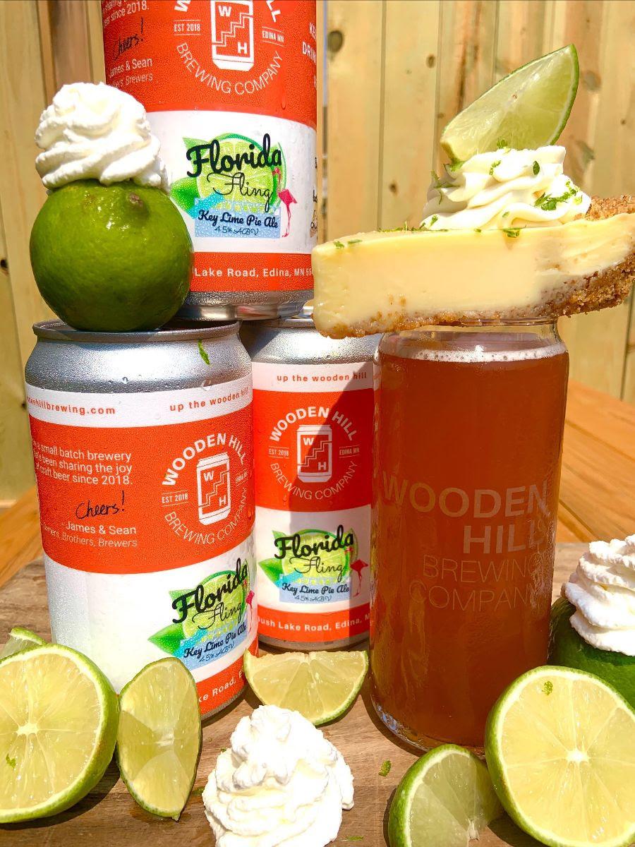 Wooden Hill Florida Fling • Photo via Wooden Hill Brewing Company