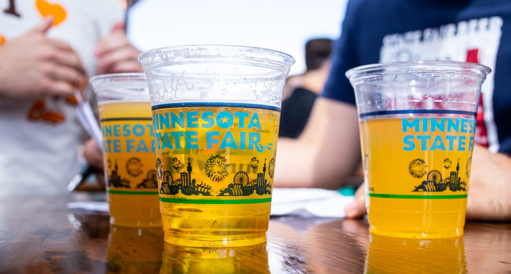Beers at the Minnesota State Fair 2019 • Photo by Tj Turner