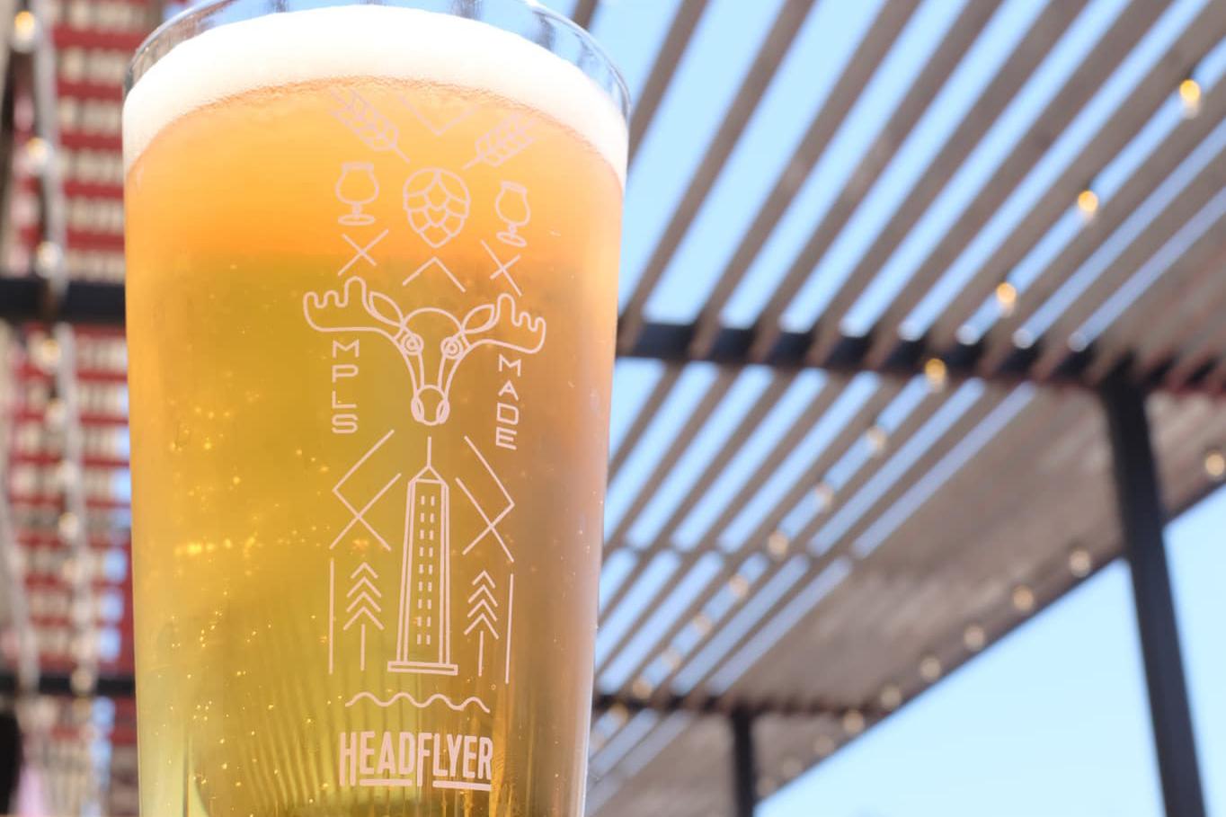 HeadFlyer Raising Helles • Photo via HeadFlyer Brewing