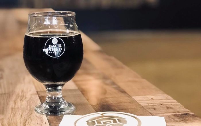 American Porter at Back Shed Brewing Company in Waite Park • Photo via Back Shed Brewing Company