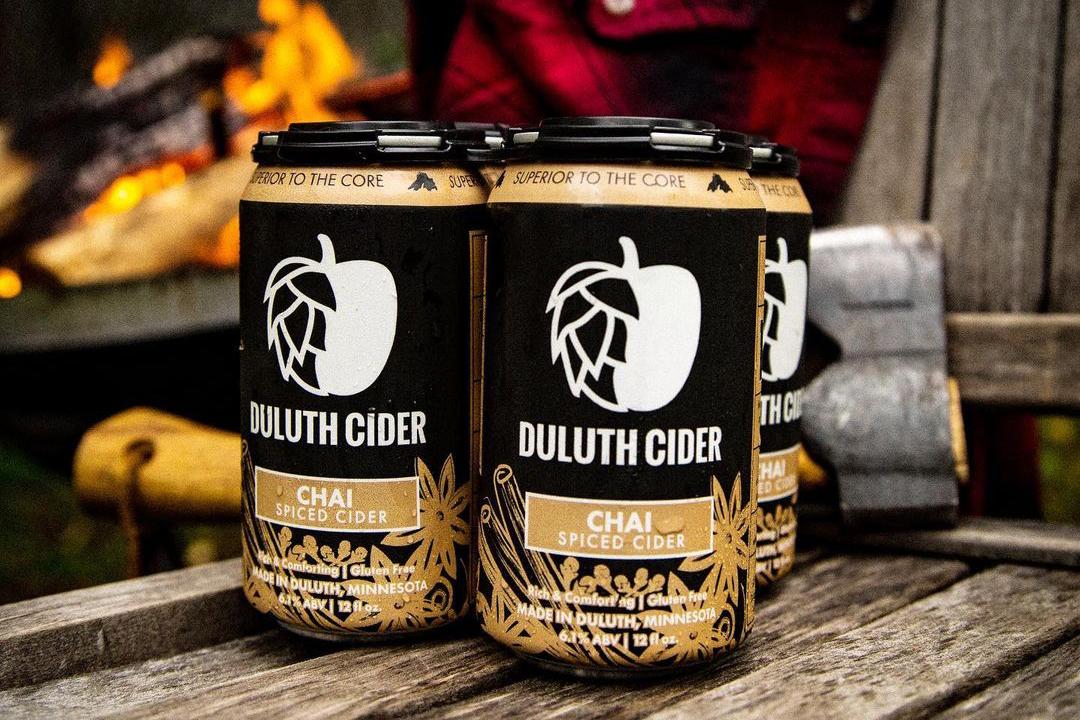 Duluth Cider Chai Cider • Photo via Duluth Cider