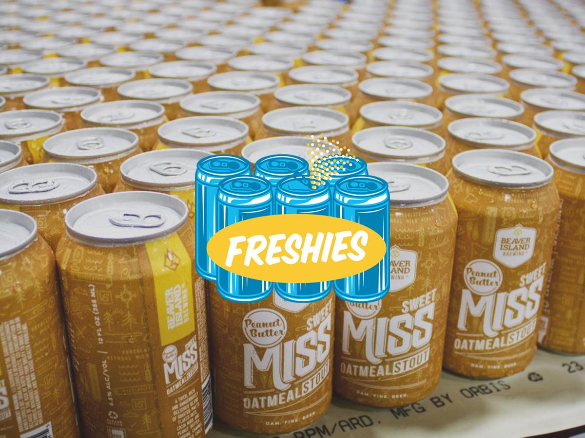 Beaver Island Sweet Miss Peanut Butter Stout • Photo via Beaver Island Brewing Company