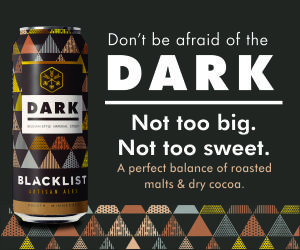 Blacklist Brewing Co. Don't be afraid of the DARK