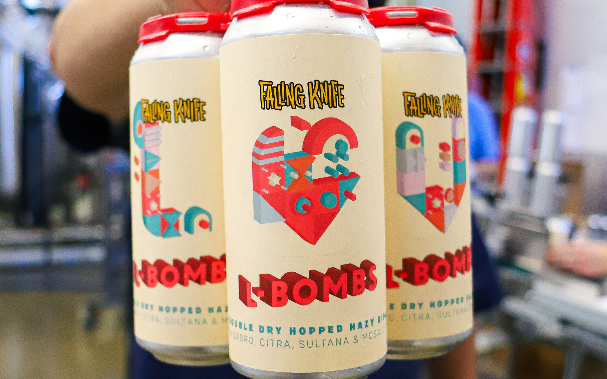 Falling Knife Brewing Company L-Bombs DDH Hazy DIPA Boats are a fantastic location for true love to bloom, just look at Jack and Rose in Titanic. In Beer Paddler's case, you'll be falling in love with this pungent and tropical IPA from Falling Knife in Northeast Minneapolis. Featuring a swoonworthy mix of Denali, Citra, Mosaic and Sabro, this handsome hazy is guaranteed to turn the Anson and Betsey into a pair of love boats.