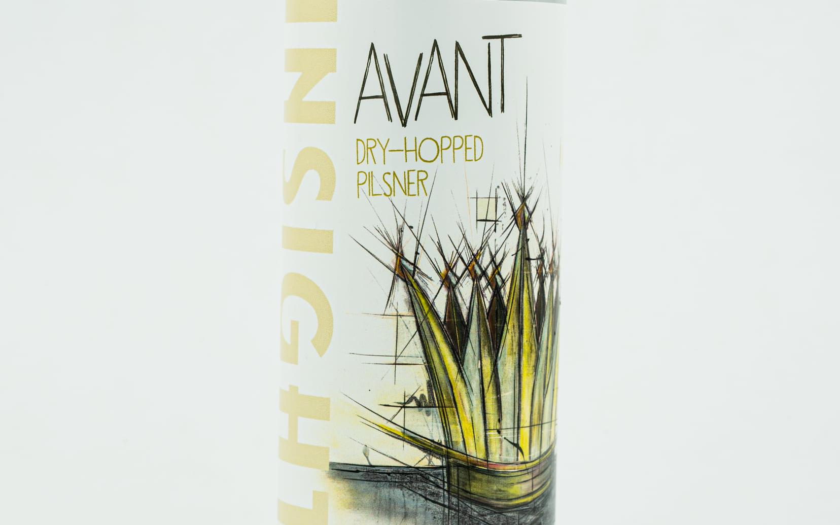 Insight Avant Pilsner • Photo via Insight Brewing