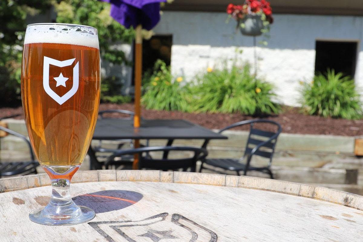 Badger Hill Roggenbier • Photo via Badger Hill Brewing
