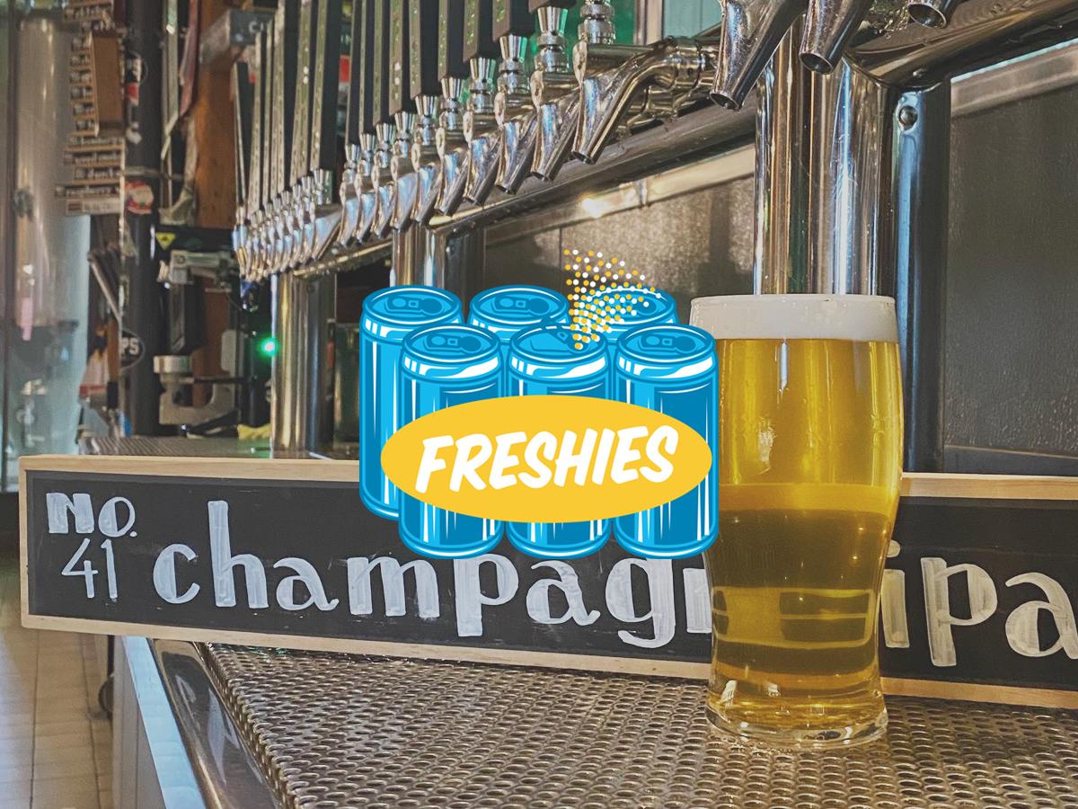 Hoops Champagne IPA • Photo via Hoops Brewing